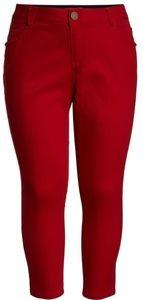 Red Capri Jean